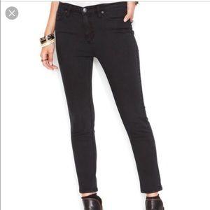 Free People Black Skinny Jeans Size 27 EUC
